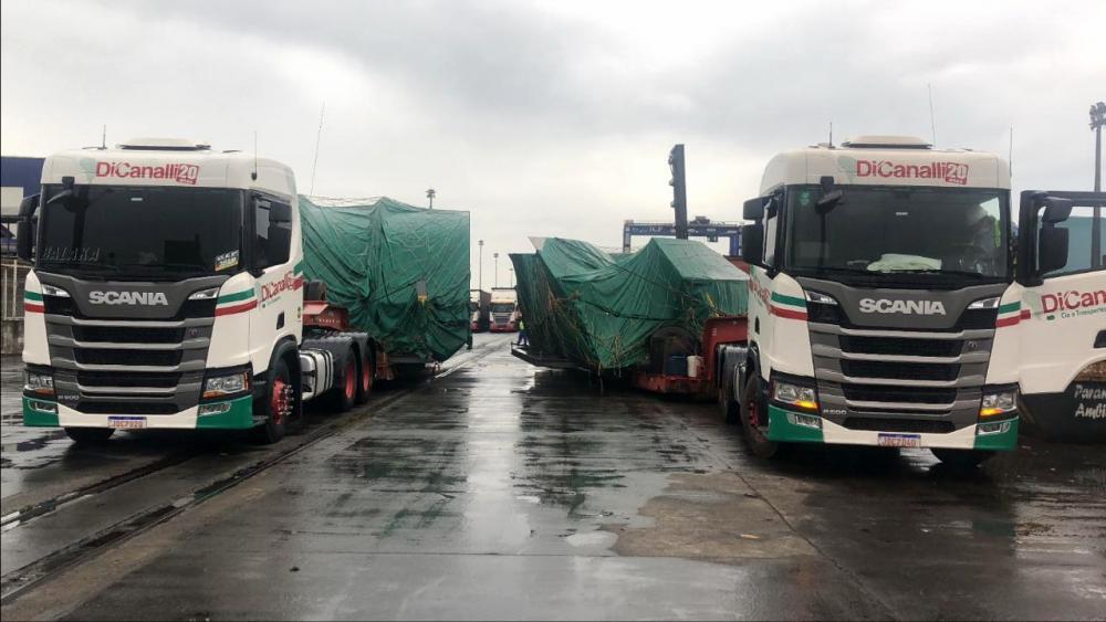 Transportadora do Rio Grande do Sul se destaca em projetos de logística de alta complexidade