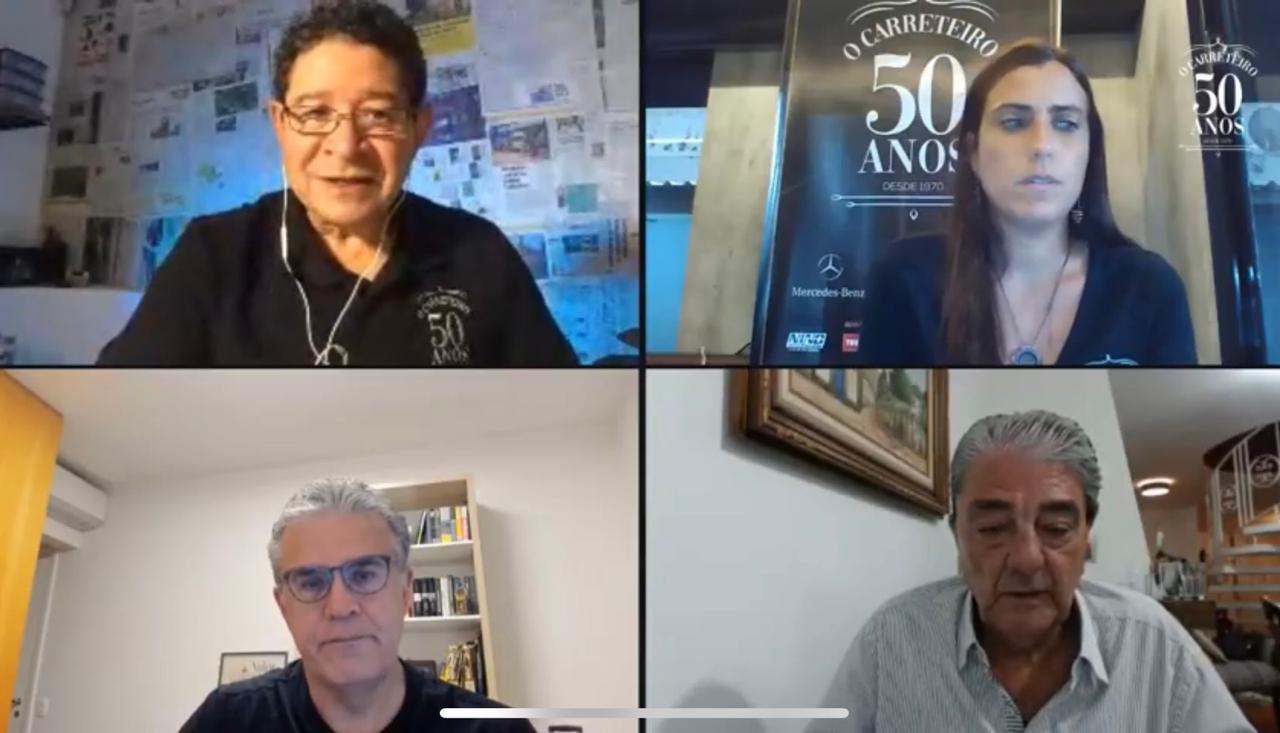 Presidente da NTC&Logística participa dos 50 anos da revista O Carreteiro