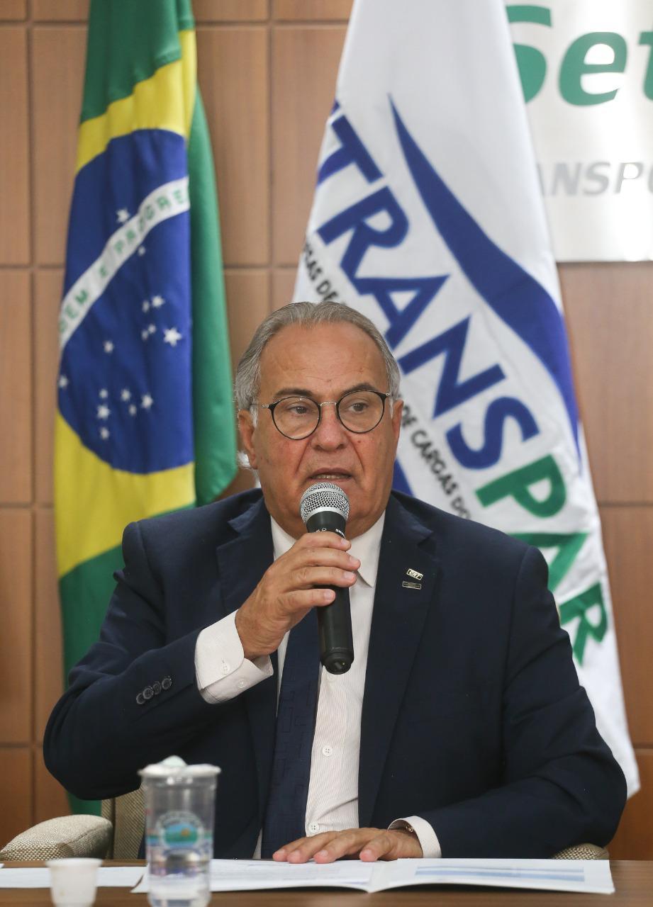 Coronel Sérgio Malucelli é reeleito presidente da FETRANSPAR