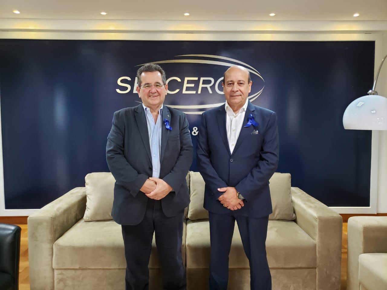 Sérgio Gabardo é eleito o novo presidente do SETCERGS para 2021-2022