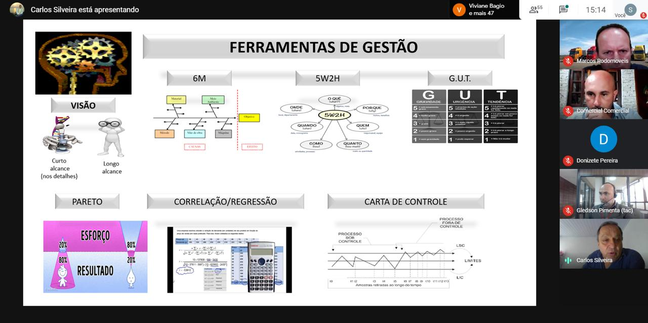 Gestão das operações de transporte de cargas é tema de palestra da Fetrancesc