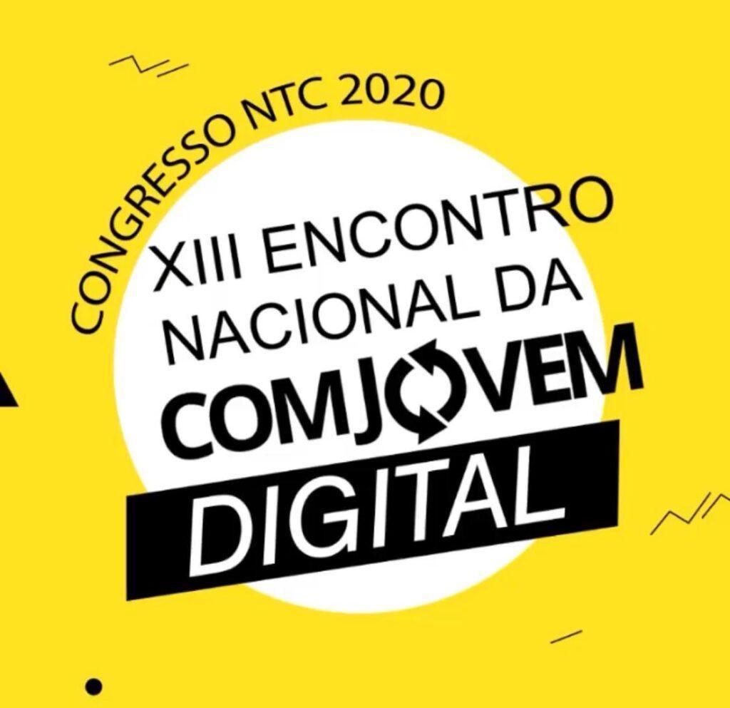 Último dia para as inscrições no Congresso NTC 2020 – XIII Encontro Nacional da COMJOVEM