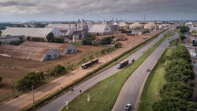 Asfaltamento melhora condições da BR-163 e favorece logística do agro