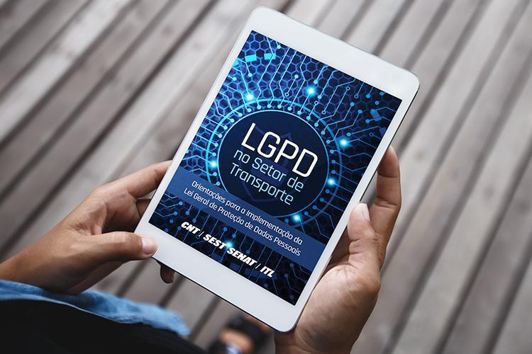 Sistema CNT lança ebook e site dedicados à Lei Geral de Proteção de Dados Pessoais