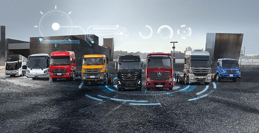 Mercedes-Benz fará 65 anos e quer continuar sendo líder do mercado de caminhões