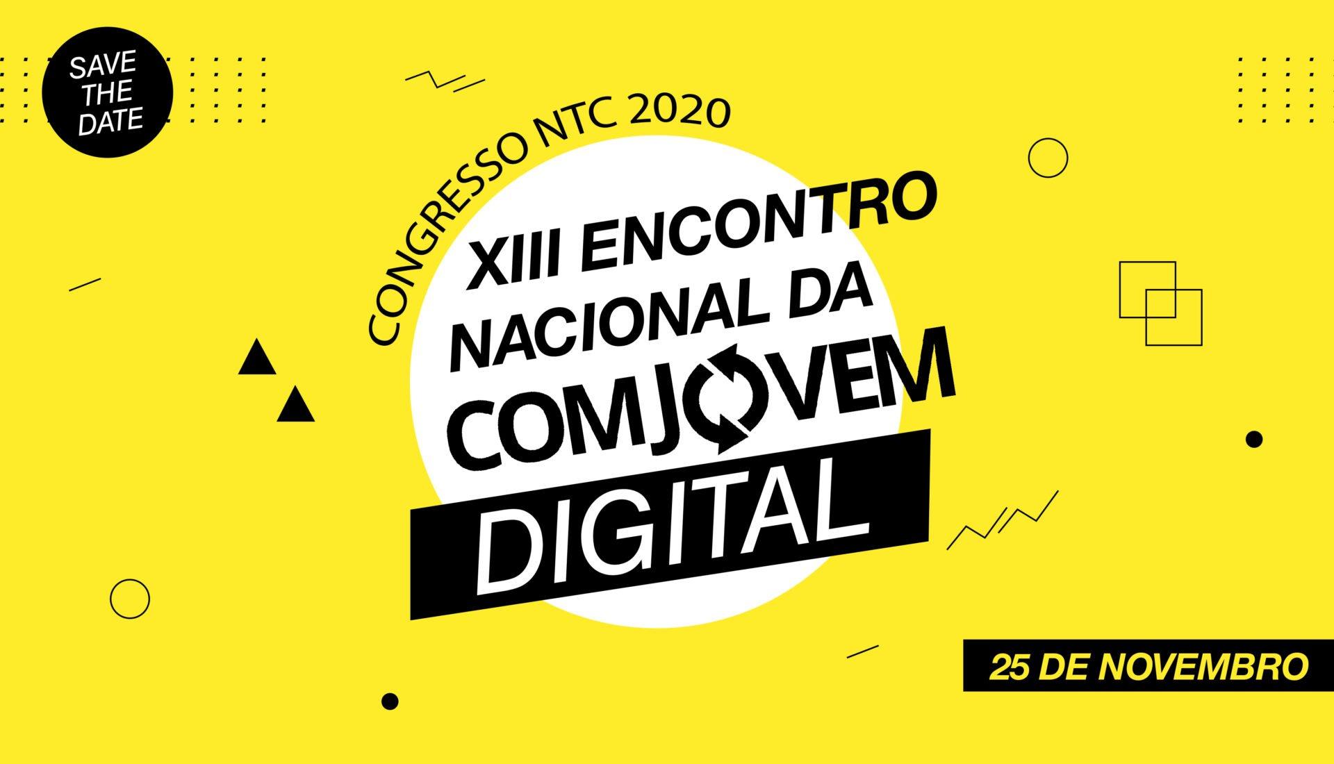 CONGRESSO NTC 2020 XIII ENCONTRO NACIONAL DA COMJOVEM